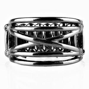 Gun metal ring